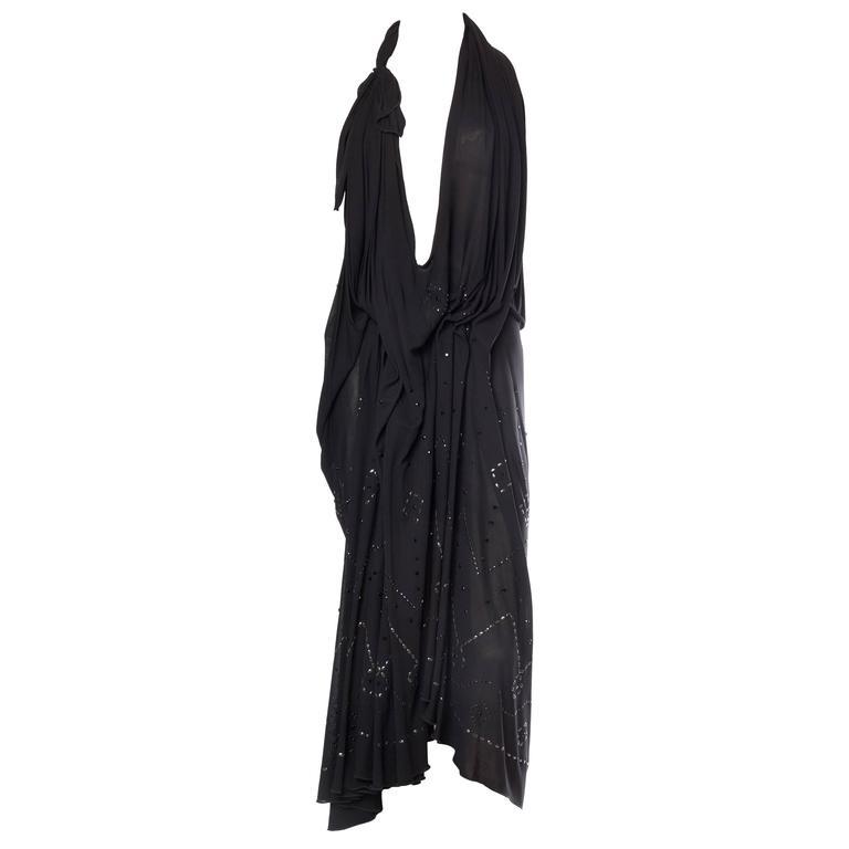 Avant Garde Slinky Jersey Dress