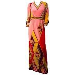 70s Paganne Maxi Dress