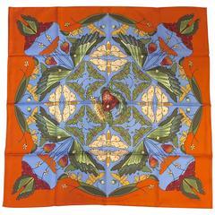 Hermes Salt Marsh Silk Scarf - Awarded for Savannah College of Art & Design