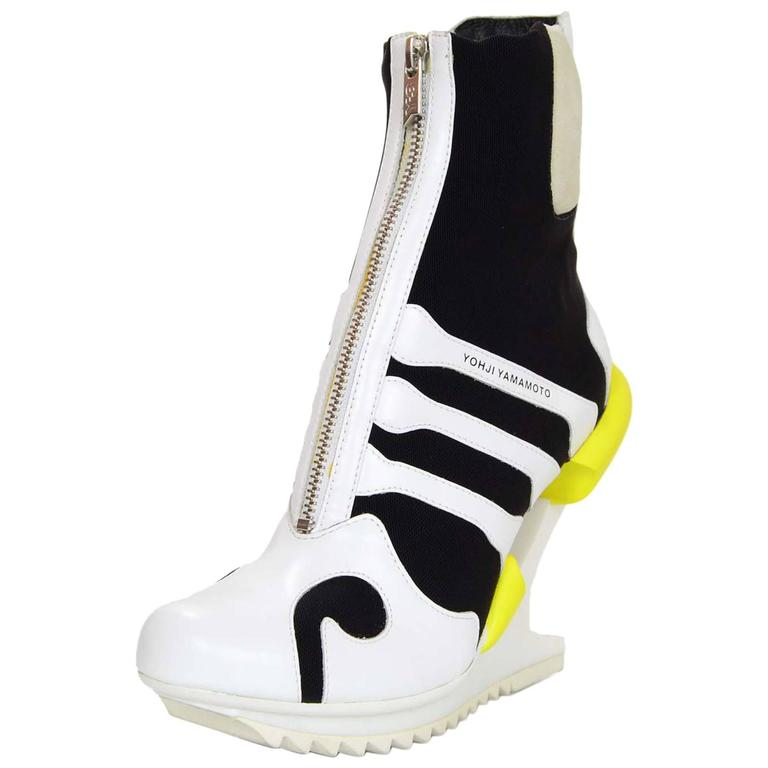 Adidas Y-3 by Yohji Yamamoto Oriah Sneaker Booties Sz 6 1