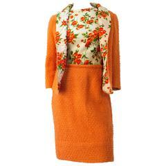 50s Lilli Ann 3piece Tweed Suit