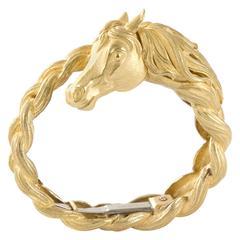 Hermes 18-Karat Gold Bracelet