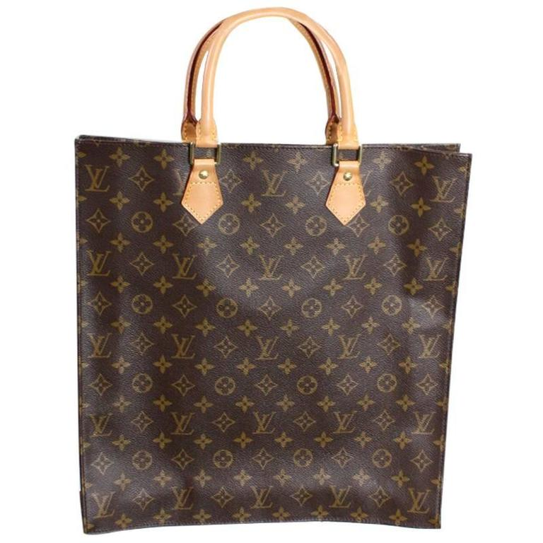 Vintage Louis Vuitton Sac Plat Tote Bag 1
