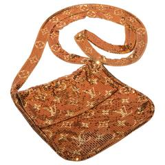 Louis Vuitton Mesh Crossbody Bag