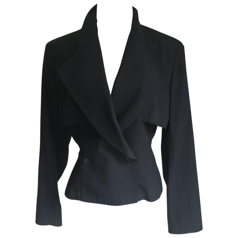 Vintage Azzedine Alaia Short Jacket  SZ.12 1