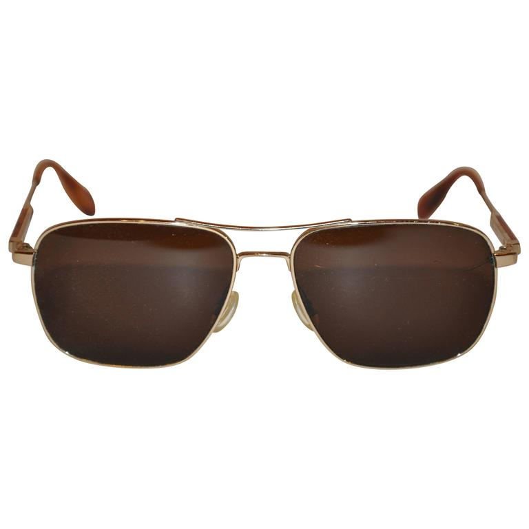 Oliver People Gilded Gold Hardware with Tortoise Shell Sunglasses