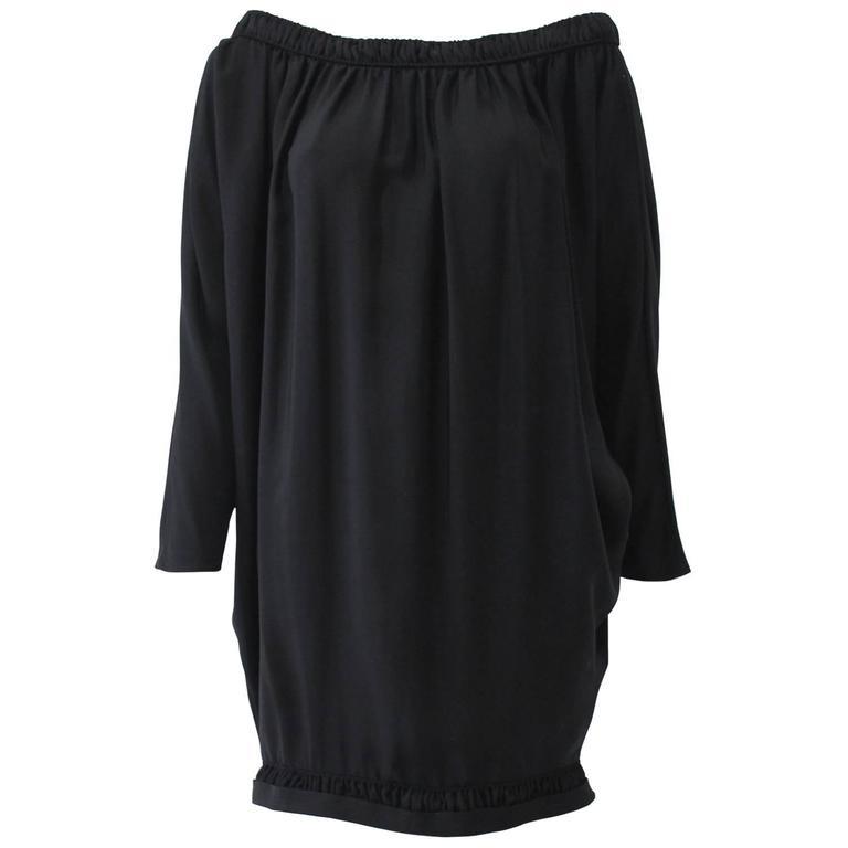 Rare Gianni Versace Couture Silk Dress Fall 1990