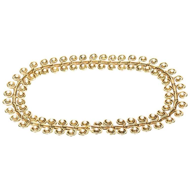 Chanel Spiral Belt For Sale