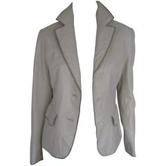 Balmain Paris soft leather jacket