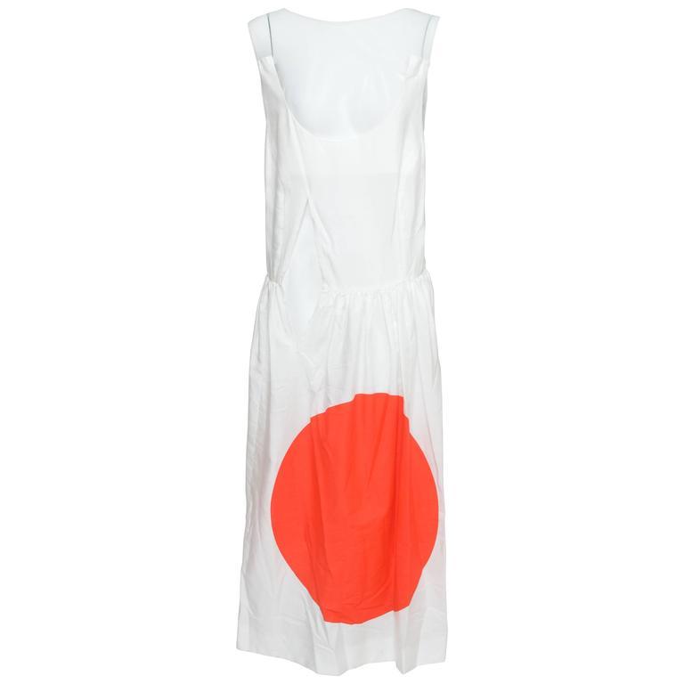 "Comme Des Garcons ""Rising  Sun"" Collection Dress AD 2006"