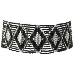 20s Tribal Hand Beaded Choker