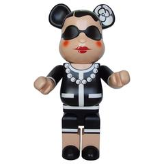 Chanel 1000% Bearbrick Medicom Limited Edition Rare Collector