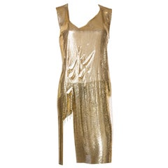 1980 Metal Mesh Rock And Roll In Solid Gold Slashed