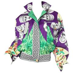 Gianni Versace Ballet Theatre Cinema Bomber Jacket