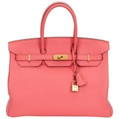 Hermès Birkin 35cm Flamingo Epsom Bag