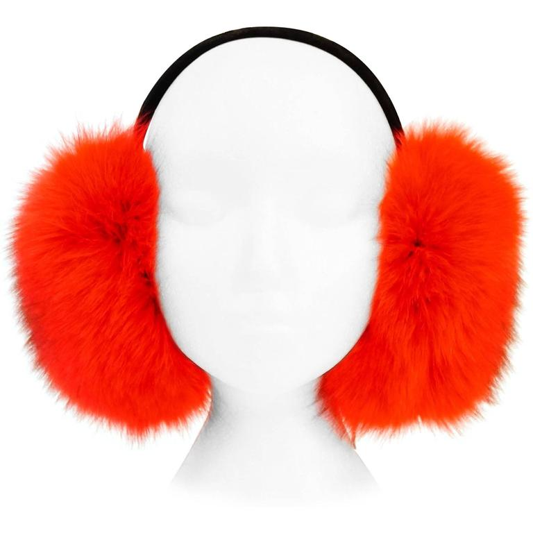 Red Fox and Velvet Earmuffs