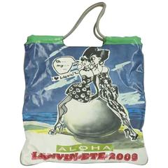 Lanvin Multi Printed Aloha Tote with Small Case - 2009
