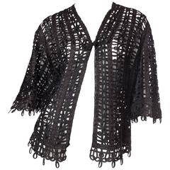 Victorian Soutache Braid Lace Jacket