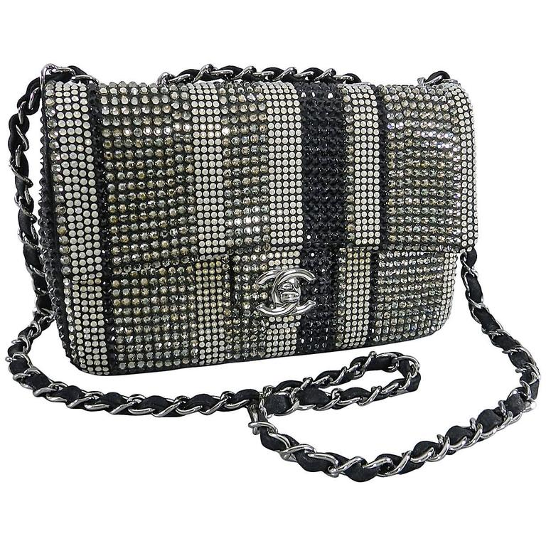 Chanel Limited Edition Strass bag - Classic Flap Mini  1