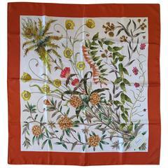 Gucci Scarf 1970s Vintage Floral  Print by Vittorio Accornero