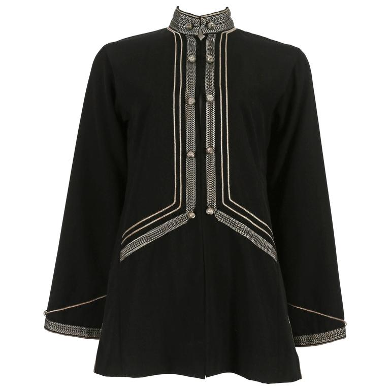 Thea Porter evening jacket with embroidery, circa 1960s