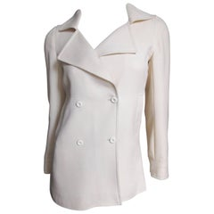 Courreges 1960's  Mod Jacket With Seaming
