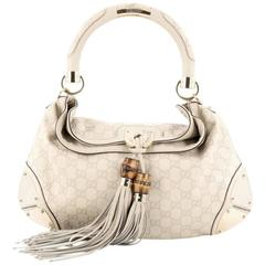 Gucci Indy Hobo Guccissima Leather Large
