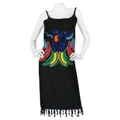 Look 29 S/S 2011 Prada Runway Embroidered Monkey Dress