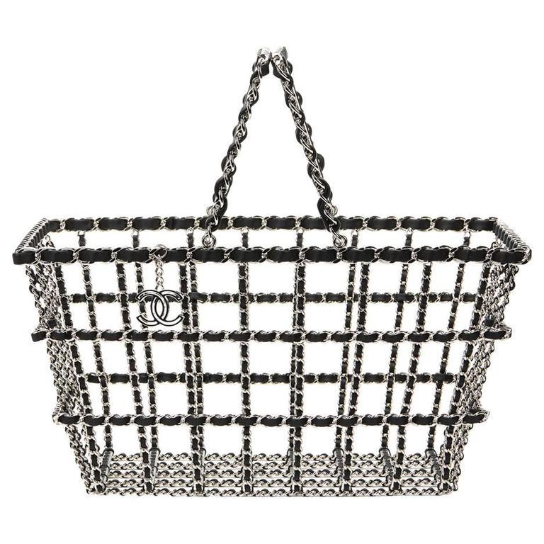 Chanel Act 2 Basket Bag, Fall 2014  For Sale