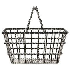 2014 Chanel Fall 2014 Act 2 Basket Bag