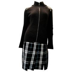 Burberry London 2 Pc Outfit - Matching Sweater and Skirt