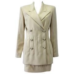 Very Rare Atelier Versace Suit Spring 1995
