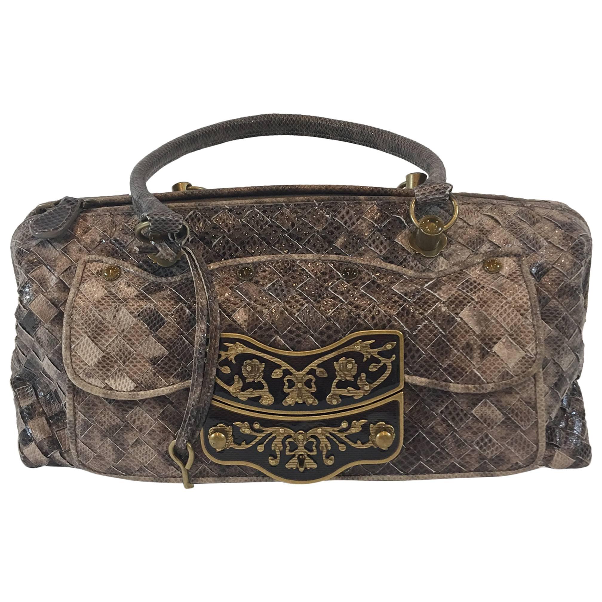 d86274e376 BOTTEGA VENETA bag BRERA SFUMATO ombre black blue super soft MINT at 1stdibs
