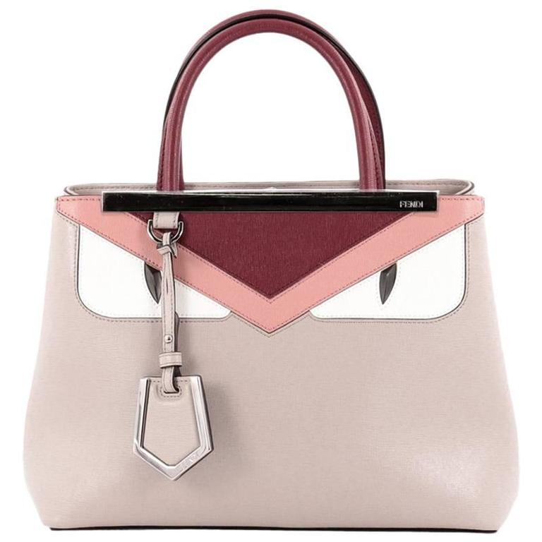 Fendi 2Jours Monster Handbag Calfskin Petite 1