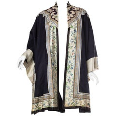 Victorian 1890'S Antique Chinese Embroidered Coat