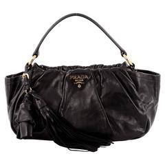 Prada Dressy New Look Shoulder Bag Soft Calfskin Medium
