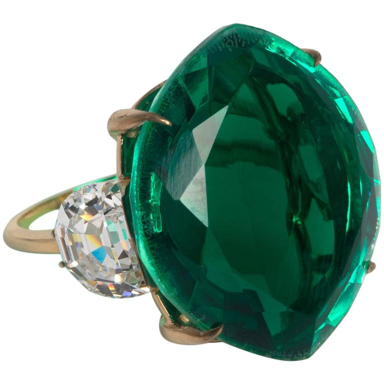 maharajah collection stylish faux emerald