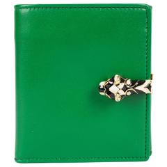 Gucci Tigrette Billfold Wallet - green