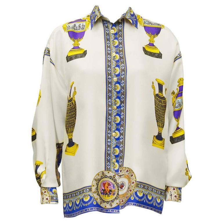 Circa 2000 Versus Silk Print Shirt 1