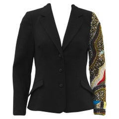 Early 2000 Christian Lacroix Jeweled Wool Blazer