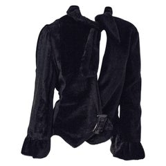 40s Black Jacket with Bell Sleeves