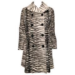 Alaia Ponyhair Coat