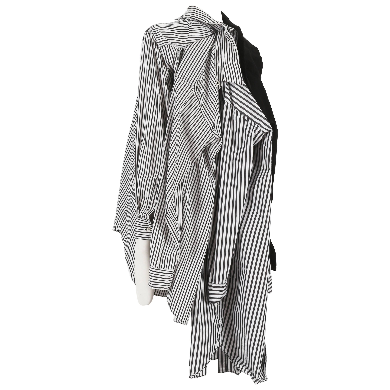 Comme des Garcons oversized deconstructed shirt, circa 2010