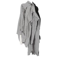 Comme des Garcons oversized deconstructed shirt, circa 2010