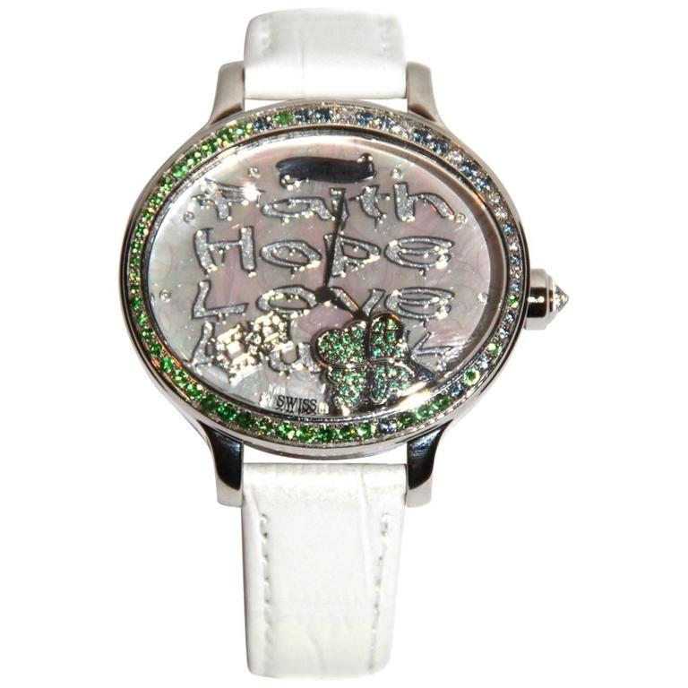 Van Der Bauwede Watch - Shamrock Collection - Swiss-Made - Pristine Condition  For Sale