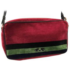 Roberta di Camerino Velvet Shoulder Bag