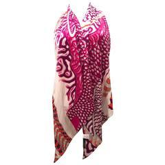Rare Emilio Pucci Silk Jersey Scarf