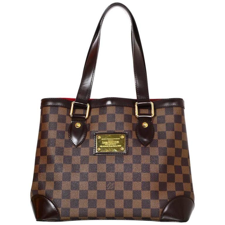 759d27630046 Louis Vuitton Damier Hampstead PM Tote Bag For Sale at 1stdibs