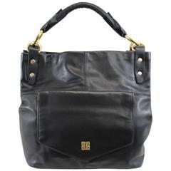 Nice Vintage Givenchy Black Leather Shoulder Bag