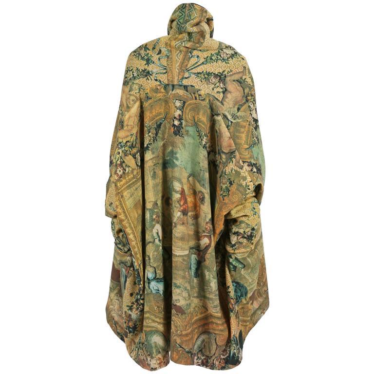 Dolce & Gabbana oversized blanket coat, circa 1980s